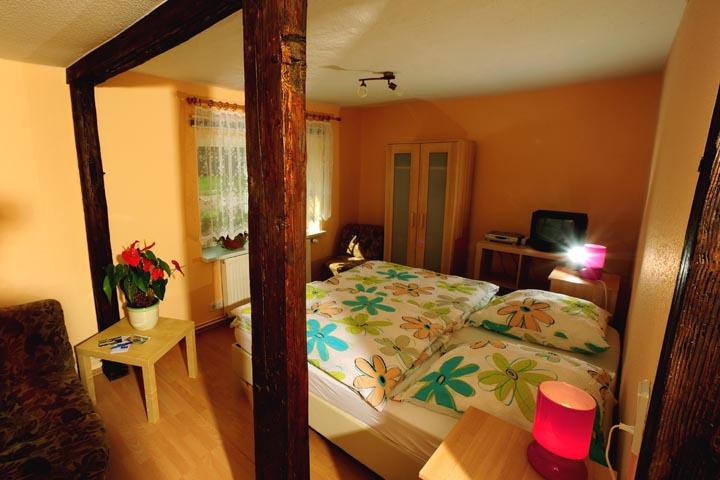 Unsere gemütlich eingerichteten Gästezimmer